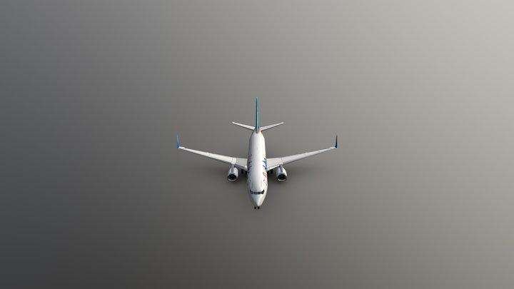 Boeing-737 3D Model