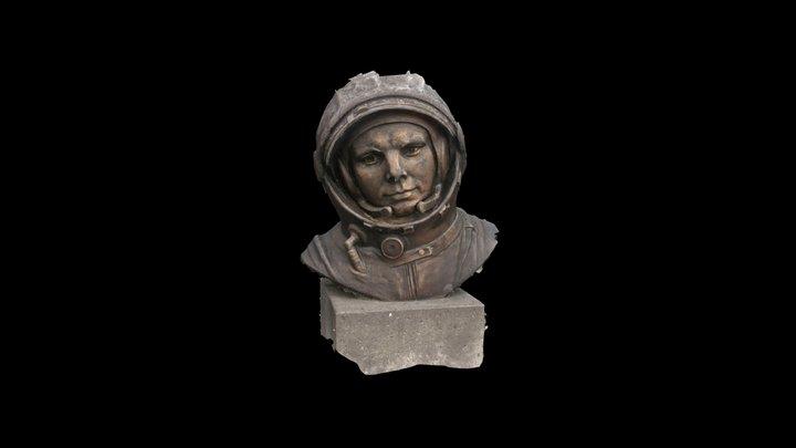 Youri Gagarine 3D Model