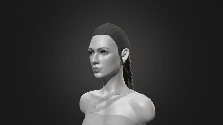 Wonder Woman-gal gadot v3 3D Model