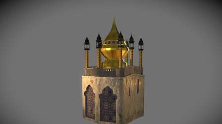 Tower Palace N°2 3D Model