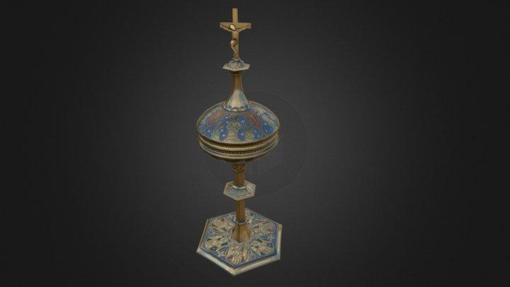 Ciborium, Limoges 3D Model