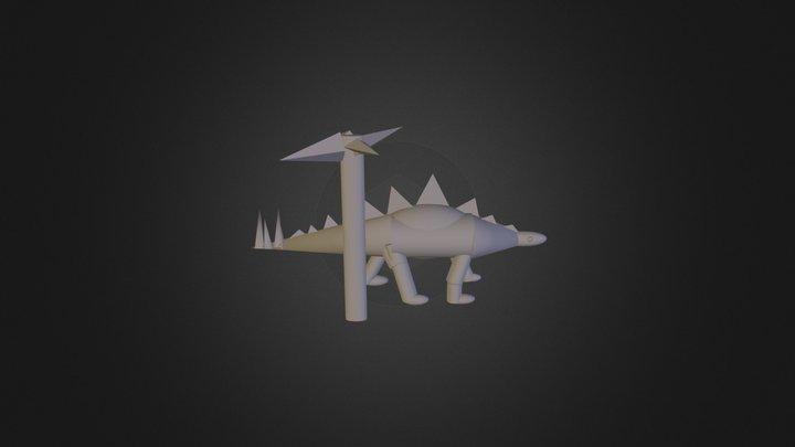 Final Dino 3D Model