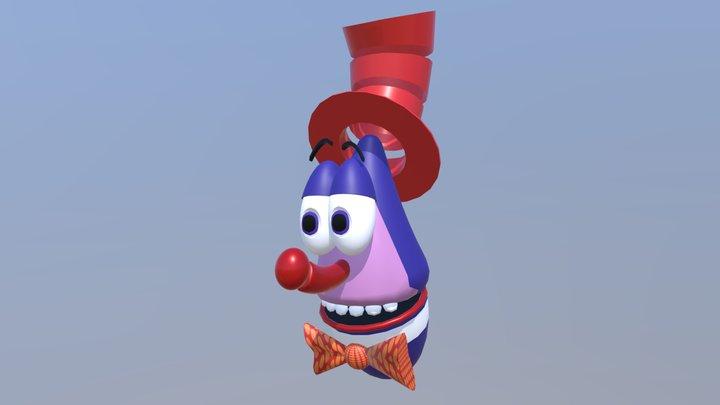 Waldo C. Graphic 3D Model