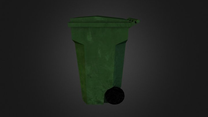 trashcontainer 3D Model
