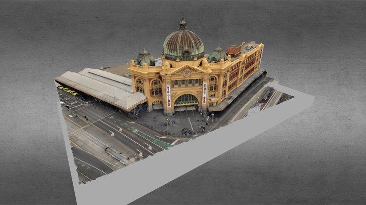 Flinders Street Station 3D Model