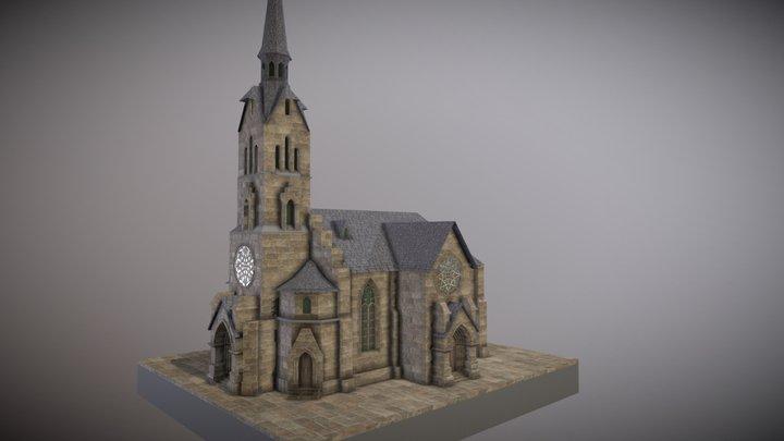 WIP Church Sketchfab 3D Model