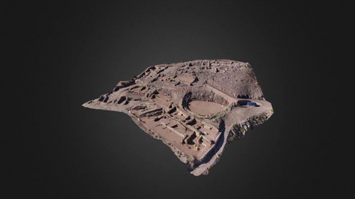 Poblado Argárico de la Bastida 3D Model