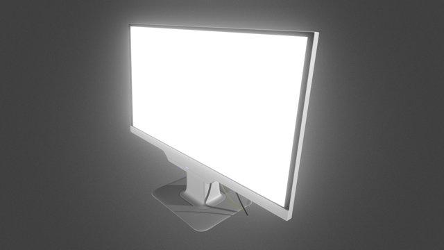 A screen... 3D Model