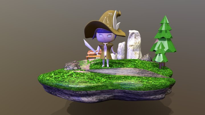 3D Modeling Character 3D Model