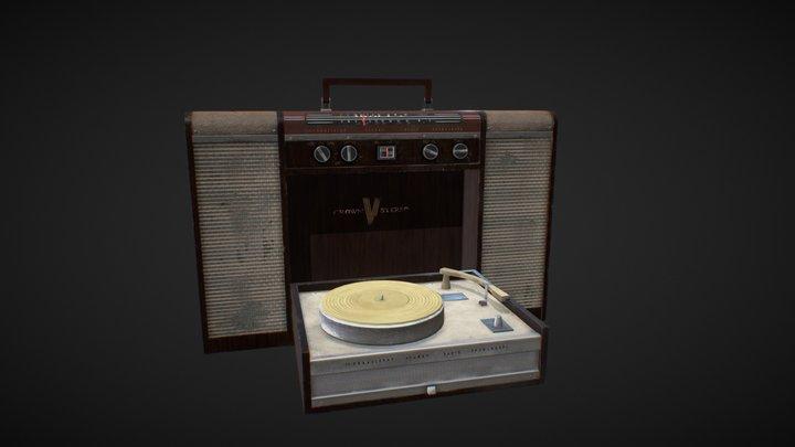 Radio Phonograph 1963 3D Model