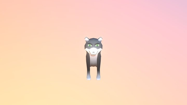 """Lobo - Videogame """"El elegido"""" 3D Model"""