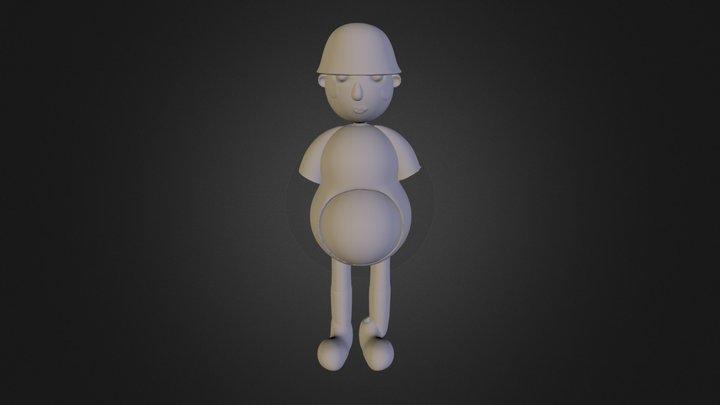 Fisher 3D Model