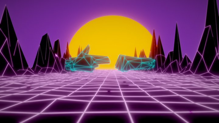 OutRun the Jewels - RTJ4D 3D Model