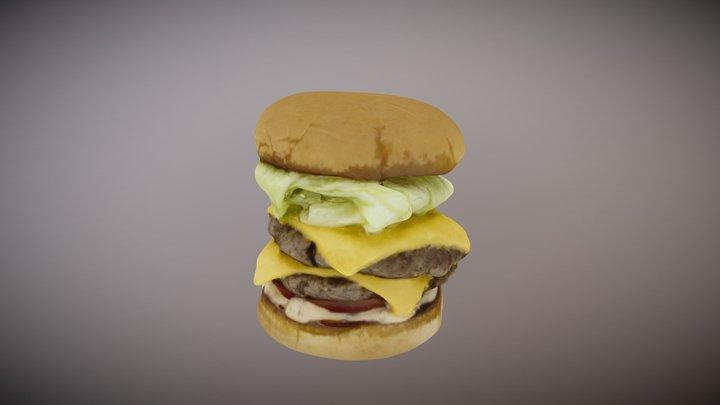 Pie n Burger 3D Model