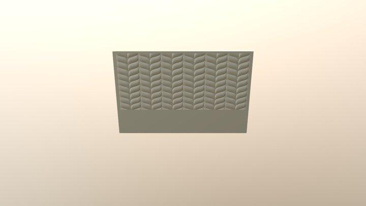 Headboard003 3D Model