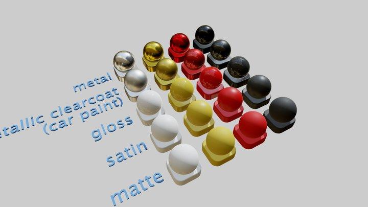 testSpheres 3D Model