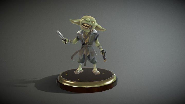 Goblin Gunslinger 3D Model