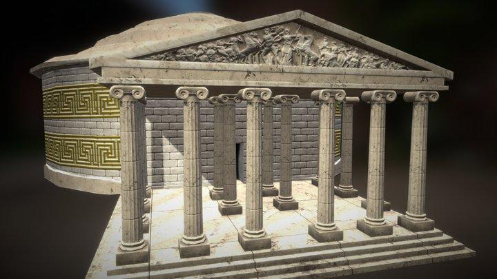 Grecian Temple 3D Model
