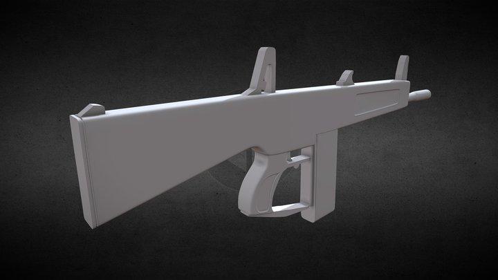 AA12 Progress - High Poly 3D Model
