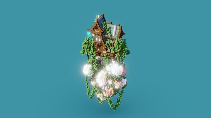 [WIP] House on island 3D Model
