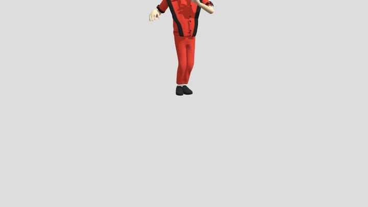 Rumba Dancing 3D Model