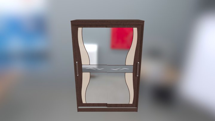 Komfort 13 (venge, zerkala) 3D Model
