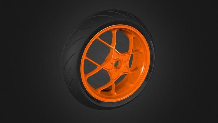 KTM Wheel 3D Model