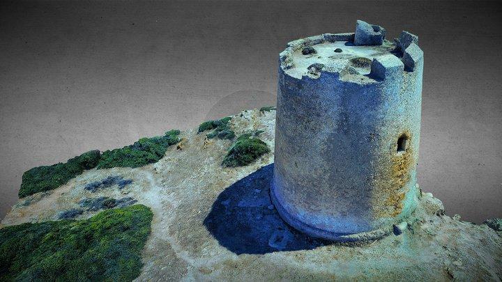 Torre Costiera Sardegna 3D Model