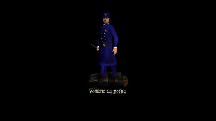 Joseph le Noire 3D Model