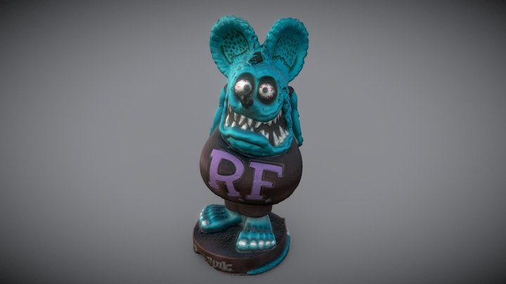 Ratfink 3D Model