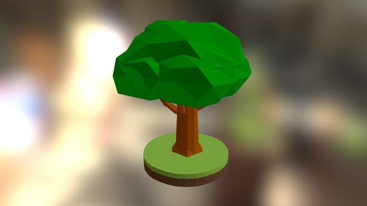 Tree Low Poly #05 3D Model