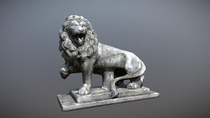 Lion from Austria 3D Model
