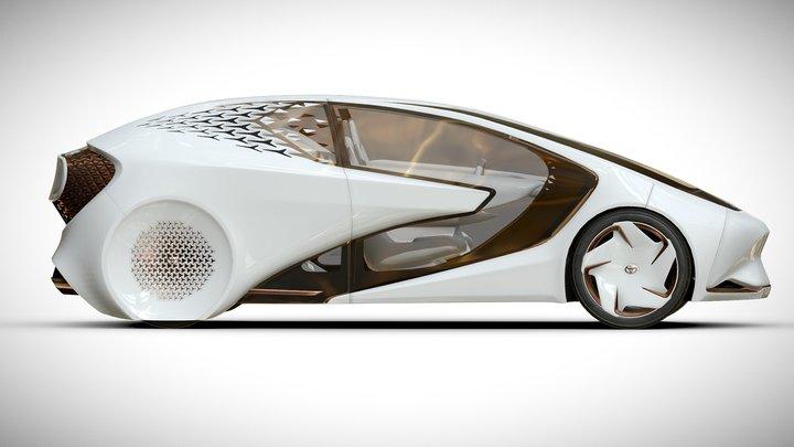 Toyota Concept-i 3D Model