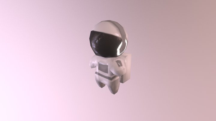 Chibi Astronaut | GGJ 2018 3D Model
