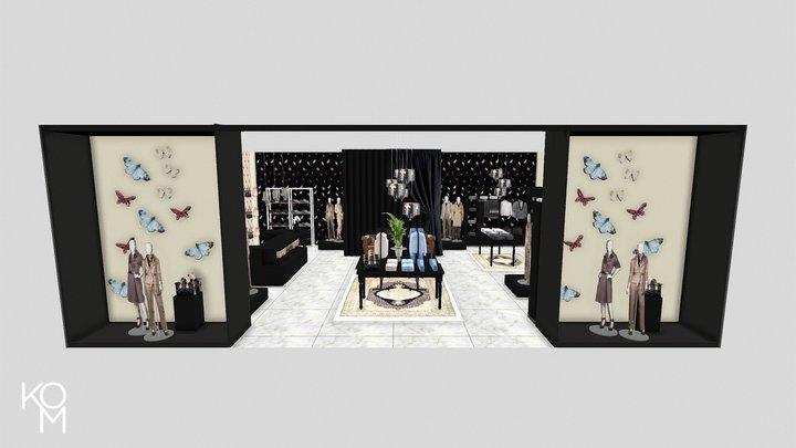 KomStore Luxury Concept 3D Model