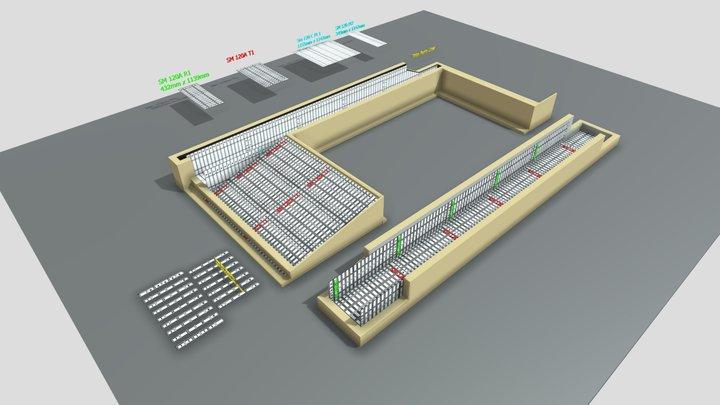 West Donlands Form Installation 3D Model