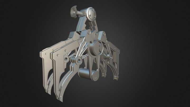 GARU (Giant Armed Robotic Unmanned) 3Ds Max 3D Model