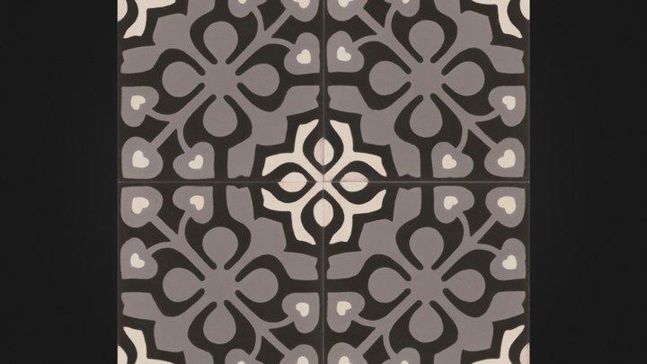 David- Moroccan tile 3D Model