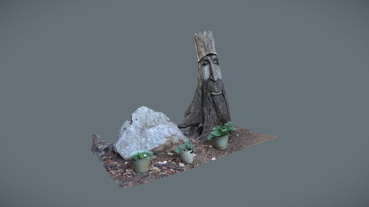 Out-n-About Stump 3D Model
