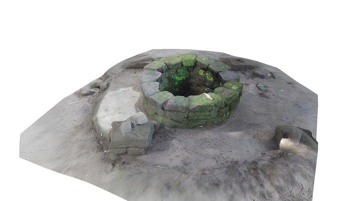 Sumur Genthong Terung 3D Model