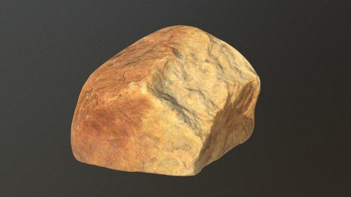 Orange Rock 2 3D Model