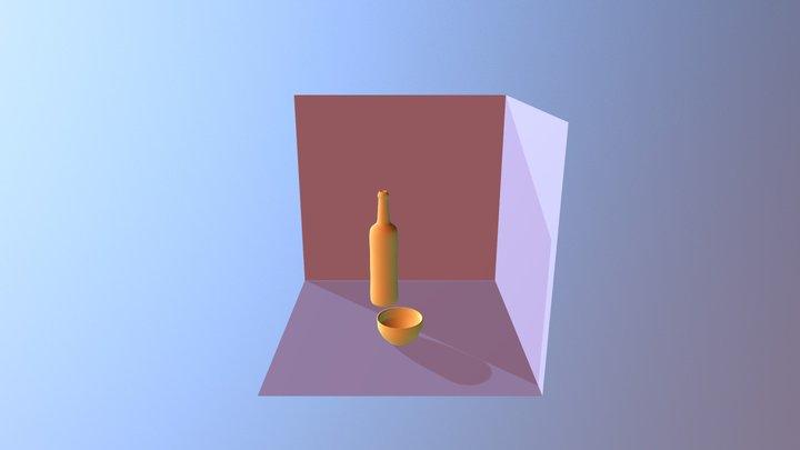 Escena Tazón 3D Model