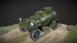 Military Vehicle 4x4 3D Model