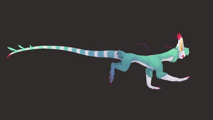 Blush 3D Model
