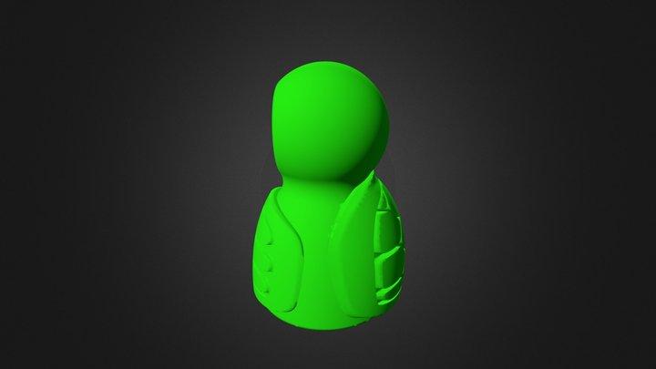 DF Buddyracer Char Turtle 3D Model