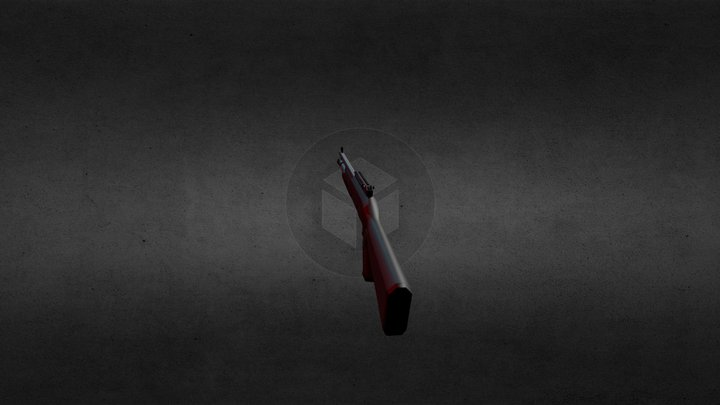 Benelli M4 Shotgun 3D Model