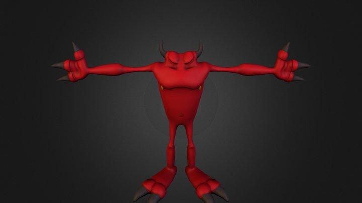 diabelnik.obj 3D Model