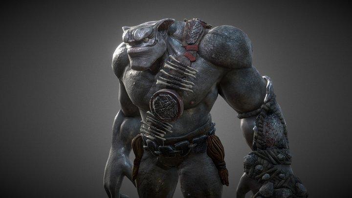 Orc Brute 3D Model