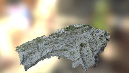 Colline Alpes de Hautes Provence 3D Model
