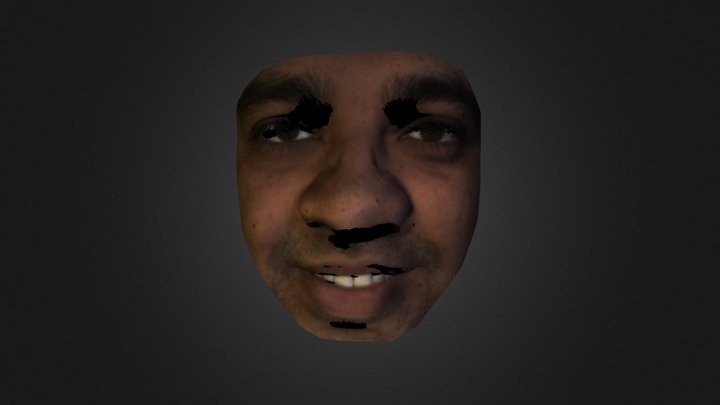 Russell Face 3D Model